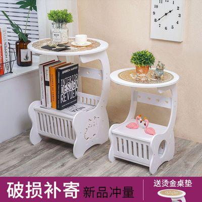 床头柜现代简约北欧式床头柜边柜卧室小圆桌茶几咖啡桌沙发边几