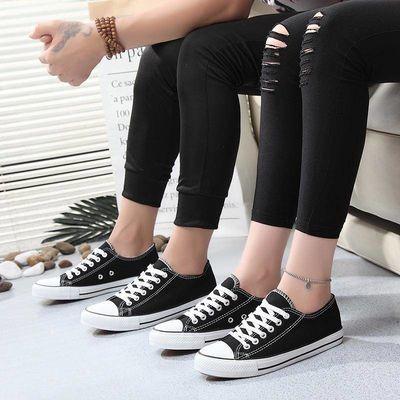 帆布鞋经典男女硫化男板鞋情侣款百搭韩版女鞋高帮低帮学生鞋子