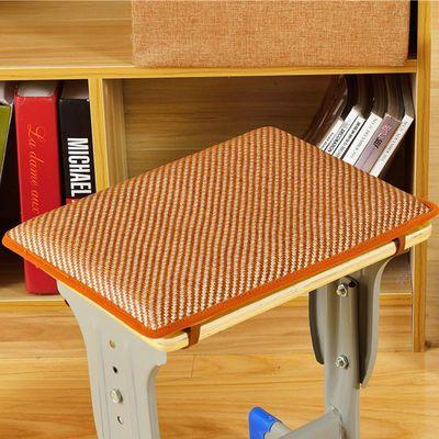 工厂坐垫服装厂员工板凳座垫透气夏凉学生坐垫长方形散热垫记忆棉