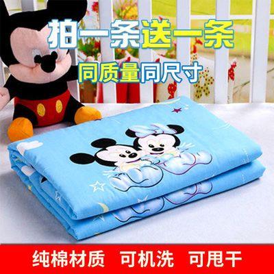 婴儿纯棉隔尿垫儿童大号防水可洗透气防漏护理床垫姨妈垫宝宝用品