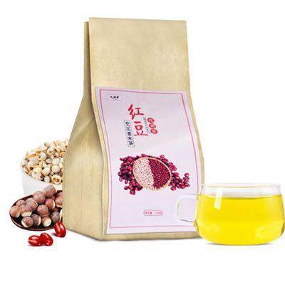 【买2发3再送杯】红豆薏米茶祛湿茶芡实组合脾胃养生茶360g\40包