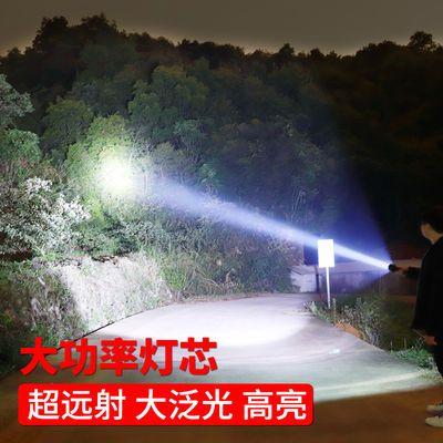 氙气灯锂电红光激点火烟自行车手筒充器户外超亮远射特种兵宝大容