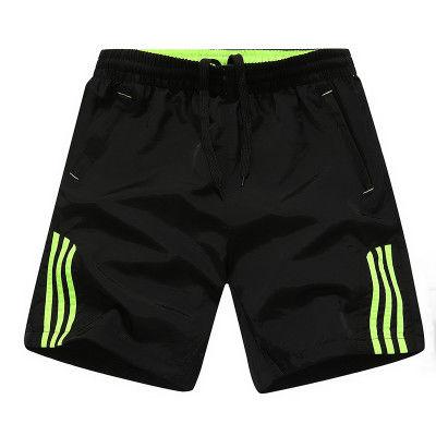 跑步健身运动短裤男大码休闲沙滩裤夏季薄款男士五分裤速干大裤衩