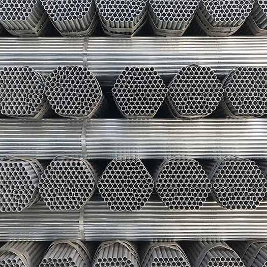 建筑钢材水利管道镀锌管圆管钢管水管消防水管穿线铁管焊管