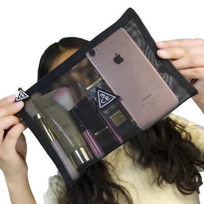 化妆包套装旅行3ce网状小号收纳包洗漱包便携简约随身网红同款袋