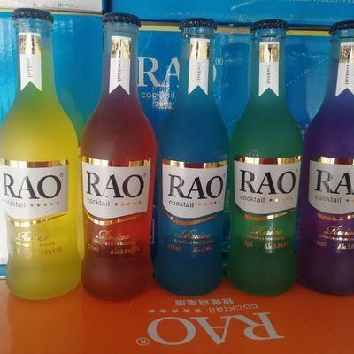RAO鸡尾酒9.9全国包邮,五种口味任你选,整箱更优惠啊正常发货