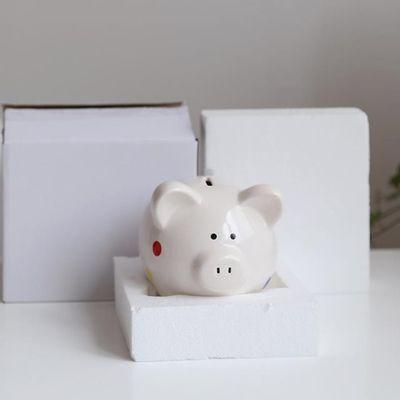 菠萝储钱罐哆啦a梦储钱罐储纸币存钱罐钱罐大容量创意网红成人储