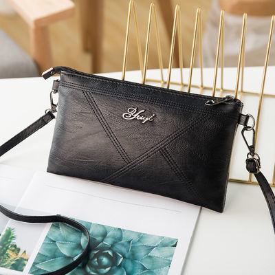 2019年新款韩包袋放荔枝纹单肩包斜挎包手拿包三用女包小包手机包