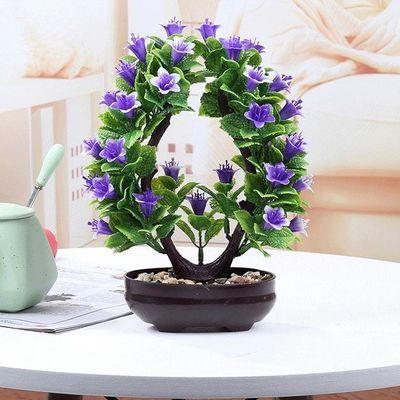 新品家居室内客厅装饰品摆件桌面创意假花盆栽绿植摆设