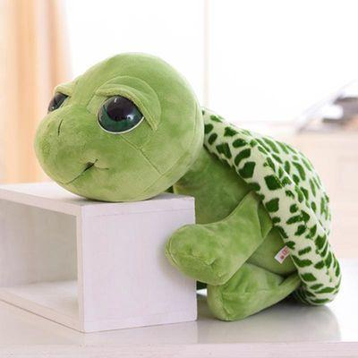 毛绒玩具乌龟玩偶可爱大眼海龟公仔抱枕送儿童女生男生生日礼物