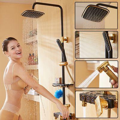 增压花洒喷头套装淋浴喷头套装花洒套装家用洗澡喷头水龙头防溅水