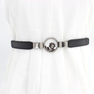女士腰带弹力腰封装饰细皮带韩版百搭配裙子装饰皮带欧美时尚腰饰