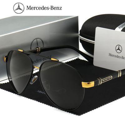 【奔驰4S店同款】新款奔驰偏光男士太阳镜高清驾驶墨镜时尚太阳镜
