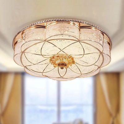 LED吸顶灯圆形欧式卧室灯客厅餐厅走廊过道玄关灯儿童房灯具灯饰