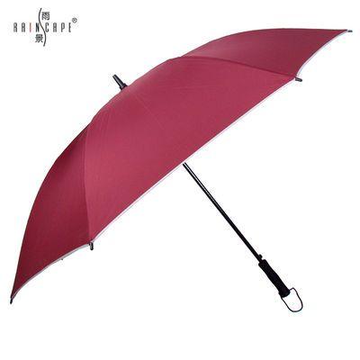 雨景大号长柄雨伞双人双层伞高尔夫创意防风超大号雨伞双人广告伞