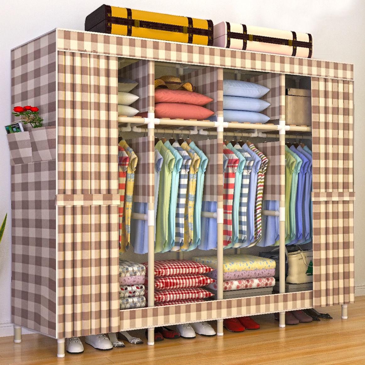 布衣柜是木头支架的好还是钢管的好_一起装修网