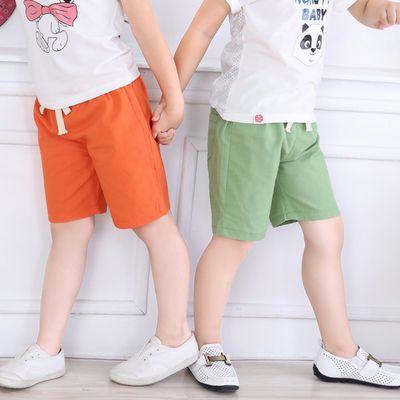 儿童纯棉短裤中大童休闲短裤五分裤男童新款外穿沙滩裤薄款裤子夏