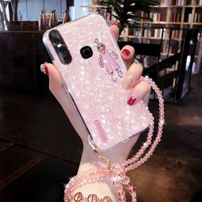 VIVOS1手机壳女S1手机套防摔玻璃硅胶软壳S1手机外壳网红S1手机套