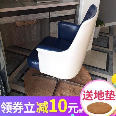 电脑椅家用北欧座椅书房皮艺办公椅子美式老板转椅欧式