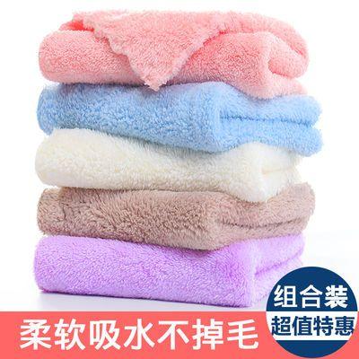 婴儿小毛巾方巾成人儿童洗脸毛巾比纯棉吸水擦手擦脸巾柔软不掉毛