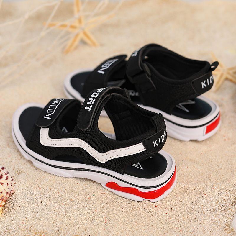 男童凉鞋2021夏季新款儿童凉鞋韩版潮中大童学生小孩男孩沙滩鞋子