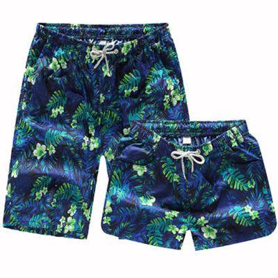 沙滩裤夏季男女士户外运动休闲游泳大裤衩速干宽松五分裤情侣短裤