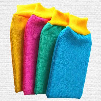 1/3/5条搓澡巾套装双面加厚粗纹搓泥洗澡巾搓背沐浴手套下泥给力