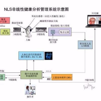 3D-NLS非线性分析仪人体检测仪保健推销仪门诊检测仪美容检测仪