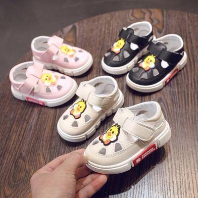 买一送一袜子宝宝凉鞋1岁2岁防滑软底学步鞋公主男女儿童小孩凉鞋