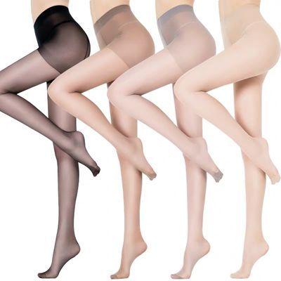 丝袜女夏连裤袜防勾丝薄款长筒黑肉色性感光腿神器超薄春秋打底裤