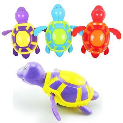 【宝宝洗澡玩具】【多只装洗澡上链乌龟】上链游水乌龟洗澡戏水