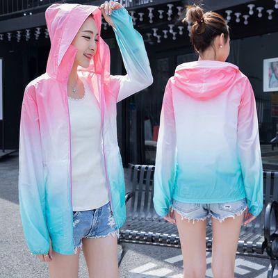 防晒衣女2020新款夏季韩版百搭防紫外线薄款防晒衫防晒服短款外套