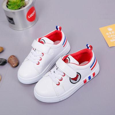 童鞋儿童小白鞋男女童板鞋2019春季新款学生休闲鞋小孩单鞋韩版潮