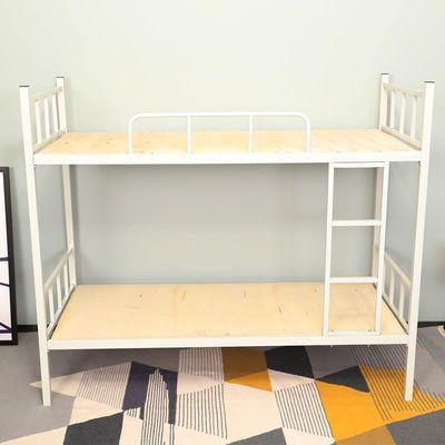 加厚高低床铁床上下铺员工宿舍双层床学生铁艺床公寓床成人铁架床