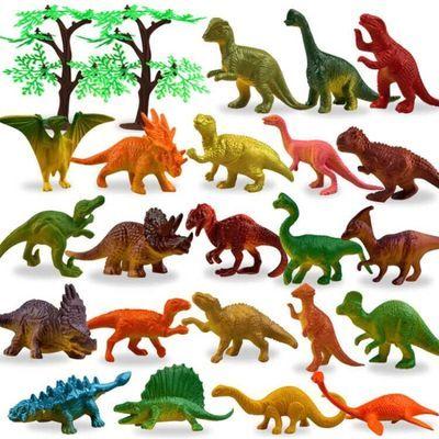 52只动物海底总动员模型玩具恐龙海洋世界动物套装