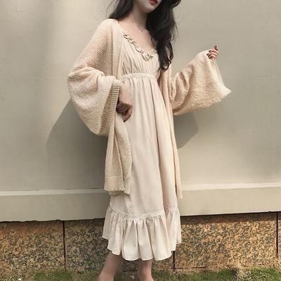 外套女2020新款女装春夏韩版宽松中长款针织衫开衫薄款夏季防晒衣