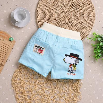 男童棉短裤夏季外穿儿童裤子2018新款夏装宝宝休闲热裤薄款童装