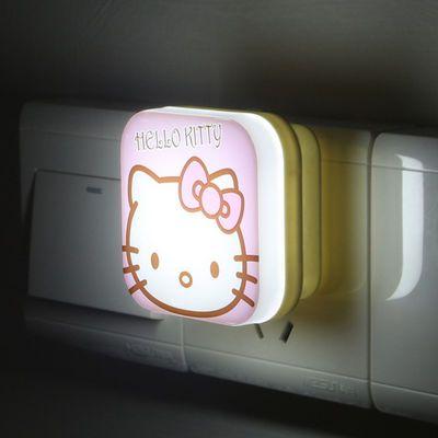【买2送1】小夜灯插电led遥控小夜灯智能小夜灯卧室床头灯喂奶灯