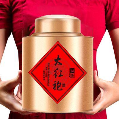 【限时大促】 正宗大红袍茶叶礼盒装散装罐装500g武夷岩茶乌龙茶