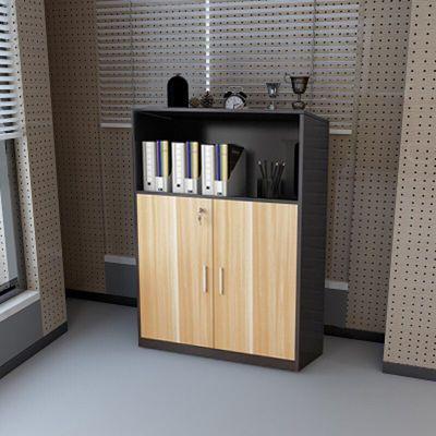 办公家具文件柜矮柜储物柜资料柜档案柜凭证柜带锁木质书柜可定制