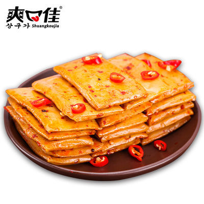 【爽口佳】鱼豆腐豆干零食休闲小吃独立包装豆制品批发特惠大礼包