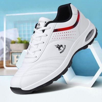 保罗男鞋透气休闲鞋跑步运动鞋男耐磨轻便男鞋旅游板鞋男士小白鞋