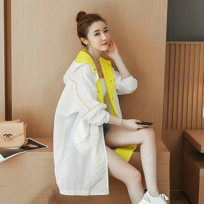 中长款防晒衣女冰丝2020新款夏季薄款长袖外套透气防紫外线防晒服