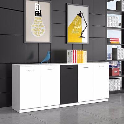 矮柜落地资料柜a4文件柜简约现代小柜子茶水柜办公柜子板式矮柜