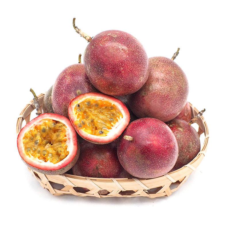 【送开果器】广西百香果5斤大果 领券立减 新鲜现摘包邮酸甜多汁_1