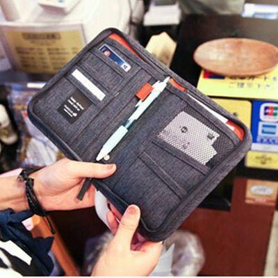新款短款多功能护照包护照夹证件包旅行收纳手拿包卡包钱包