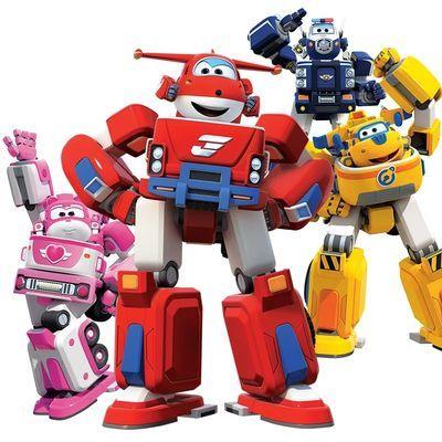 新超级飞侠玩具机器人套装全套乐迪小爱多多变形合体载具儿童玩具
