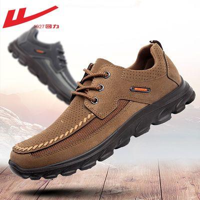 老北京布鞋男款春季中老年人软底爸爸鞋子鞋休闲鞋