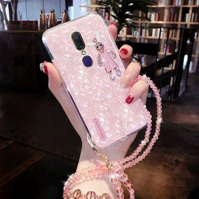 OPPOA9手机壳防摔社会网红A9外壳男女全包超薄A9手机套女挂绳玻璃
