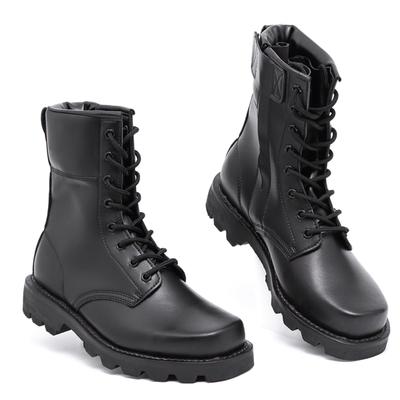 正品羊毛军靴男特种兵作战靴钢头钢底马丁靴男士高帮靴子男靴